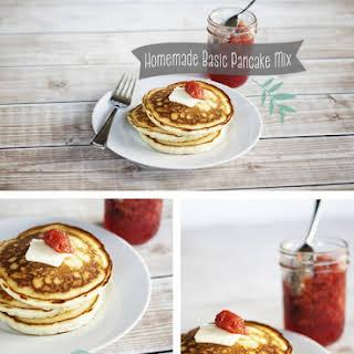 Recipe // Homemade Basic Pancake Mix.