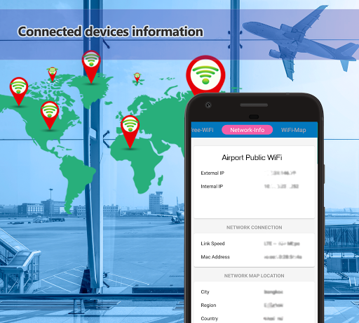 Download Free Wifi Connect Network Map G Share Hotspot On PC - 4g network map