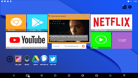 Mega TV Launcher 10.0 (AdFree)