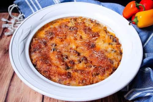 """Southwest Chipotle Chicken Dip """"This dip has a smoky flavor mixed with..."""