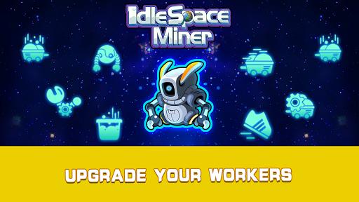 Idle Space Miner - Idle Cash Mine Simulator 1.3.4 screenshots 6