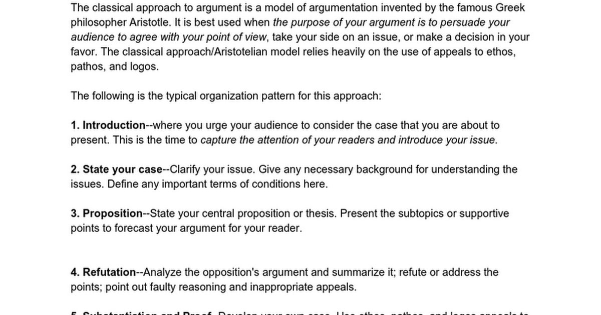 rogerian argument forms google docs - Rogerian Argument Essay Example
