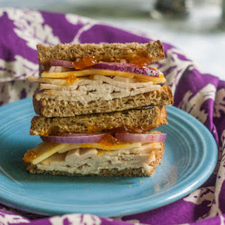 Turkey Apricot Cheddar Sandwich