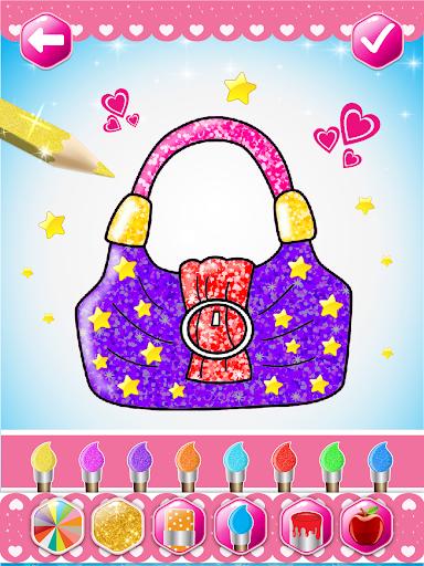 Glitter beauty coloring and drawing screenshot 11