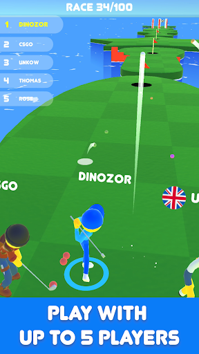 Golf Race - World Tournament filehippodl screenshot 1