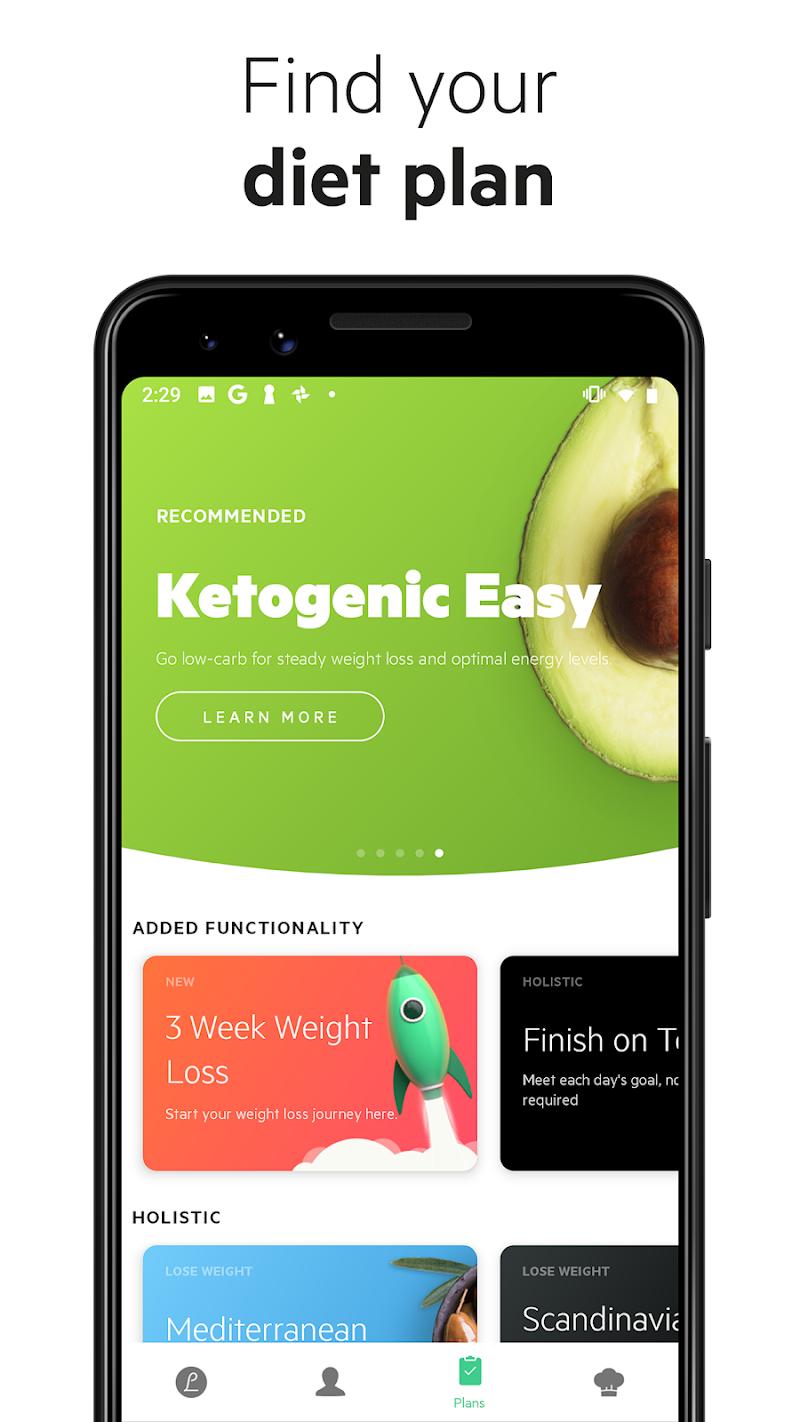 Lifesum - Diet Plan, Macro Calculator & Food Diary Screenshot 0