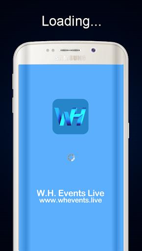 W.H. Events Live 1.9.0 screenshots 1