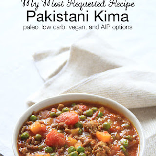 Pakistani Kima - Ground Beef Curry.