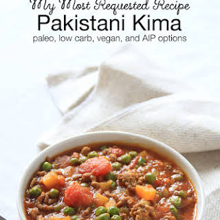 Pakistani Kima - Ground Beef Curry.