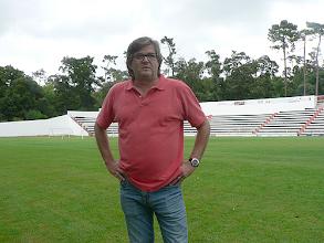Photo: O treinador dos juniores