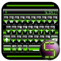 SlideIT Green Digital Skin icon