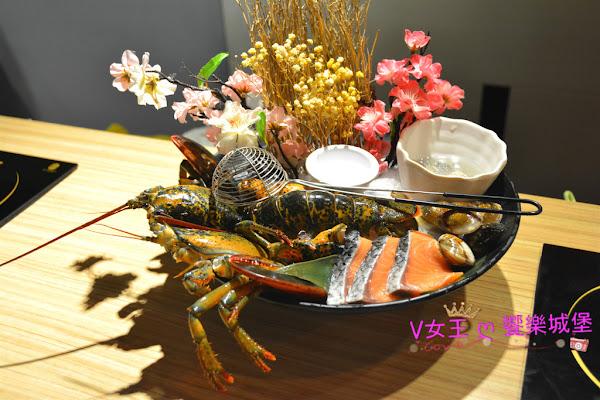 """食。捷運新埔站 鮮入圍煮-精緻鍋物 ~ 新鮮海鮮 現點現撈,就是要給你吃到 """" 尚青 """" 的美味食材"""