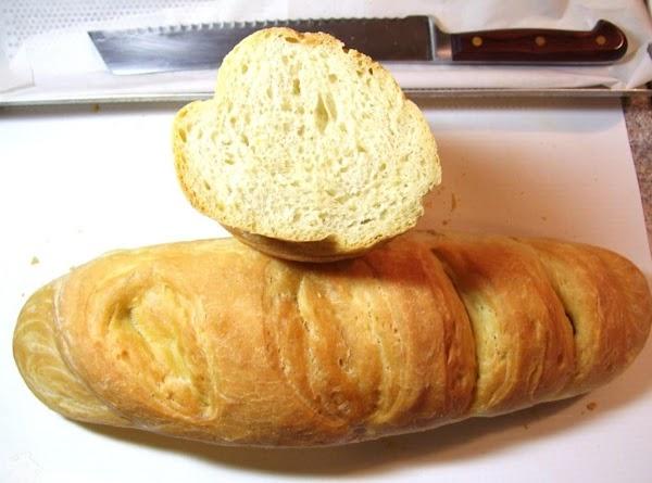 Bread Started From A Biga Recipe