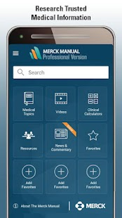 Merck Manual - Pro Version- screenshot thumbnail
