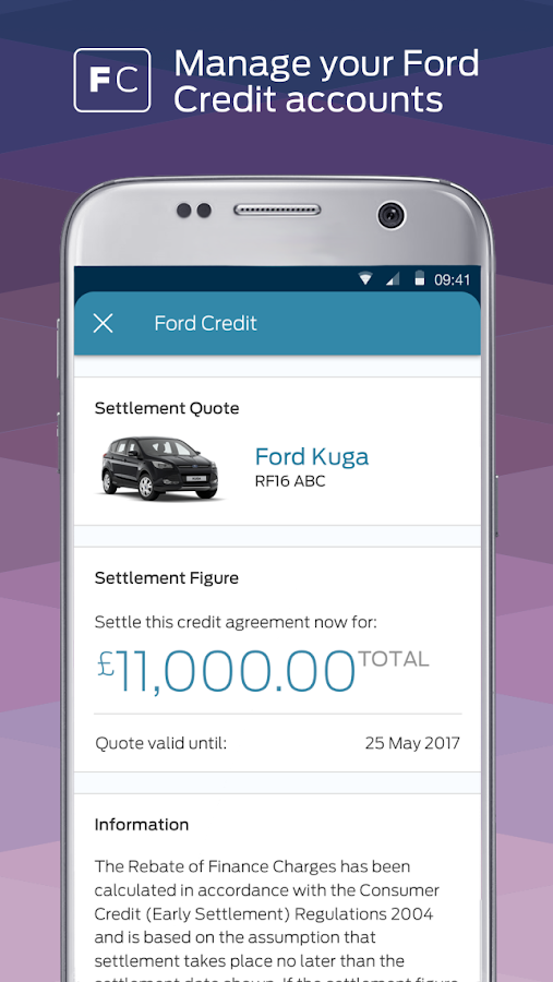 Fordpass journeys made easier android apps on google play for Ford motor credit account