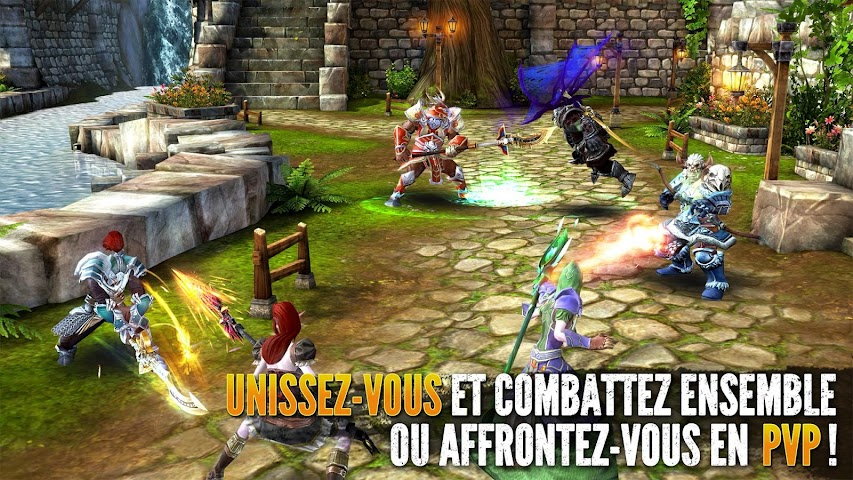android Order & Chaos 2: Redemption Screenshot 1
