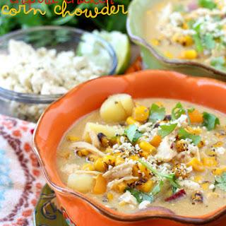 Dairy Free Chipotle Chicken Corn Chowder
