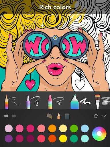 Girls Coloring Book  screenshots 10