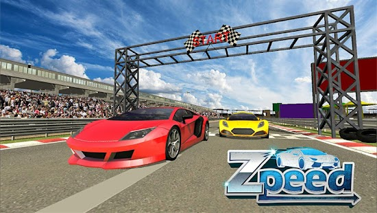 Zpell Racing Game- screenshot thumbnail