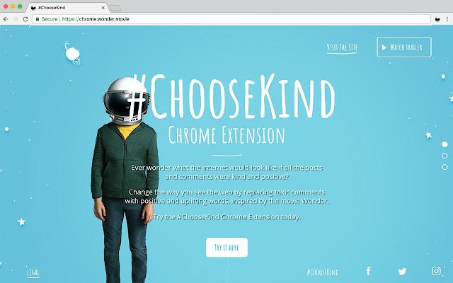 Wonder #ChooseKind