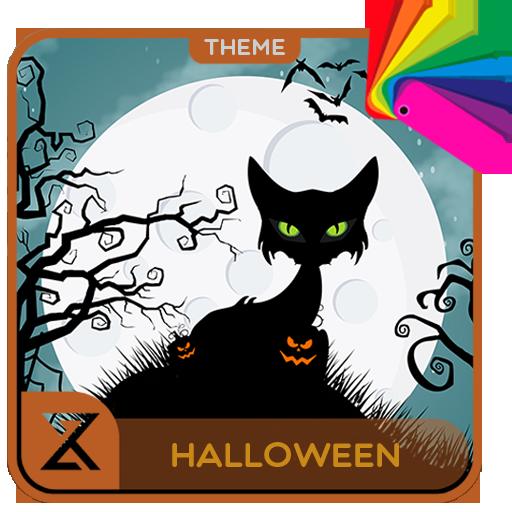 Halloween Cat (Xperia Theme)