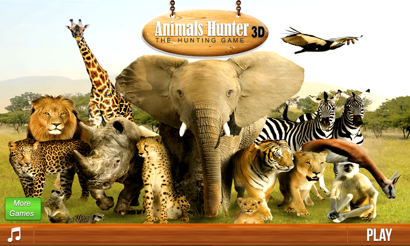Animals Hunting 3D  Android Apps on Google Play