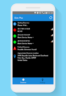 Skim Plus (Bluetooth Skimmer Detection) Screenshot