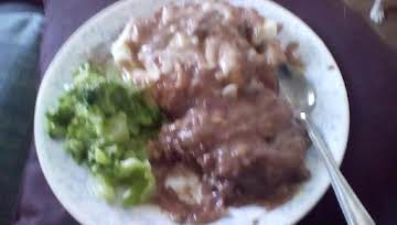 Kim's Crock Pot Salisbury Steak