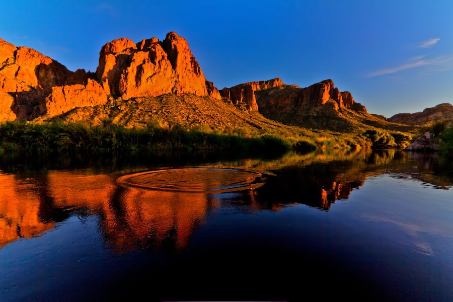 by Jim Moon - Landscapes Waterscapes ( reflection, desert,  )