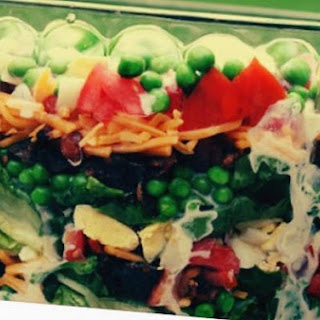 """skinny"" Seven Layer Salad ♥."