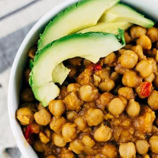 Vegan Garbanzo Bean Soup.