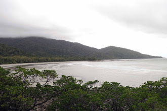 Photo: Cape Tribulation, Tropical Northern Queensland. No development. No people. Just a (mostly) very rough track along the coast, threading the rain forest and the edge of the Great Barrier Reef system, which gets closest to the land mass in this remote region.