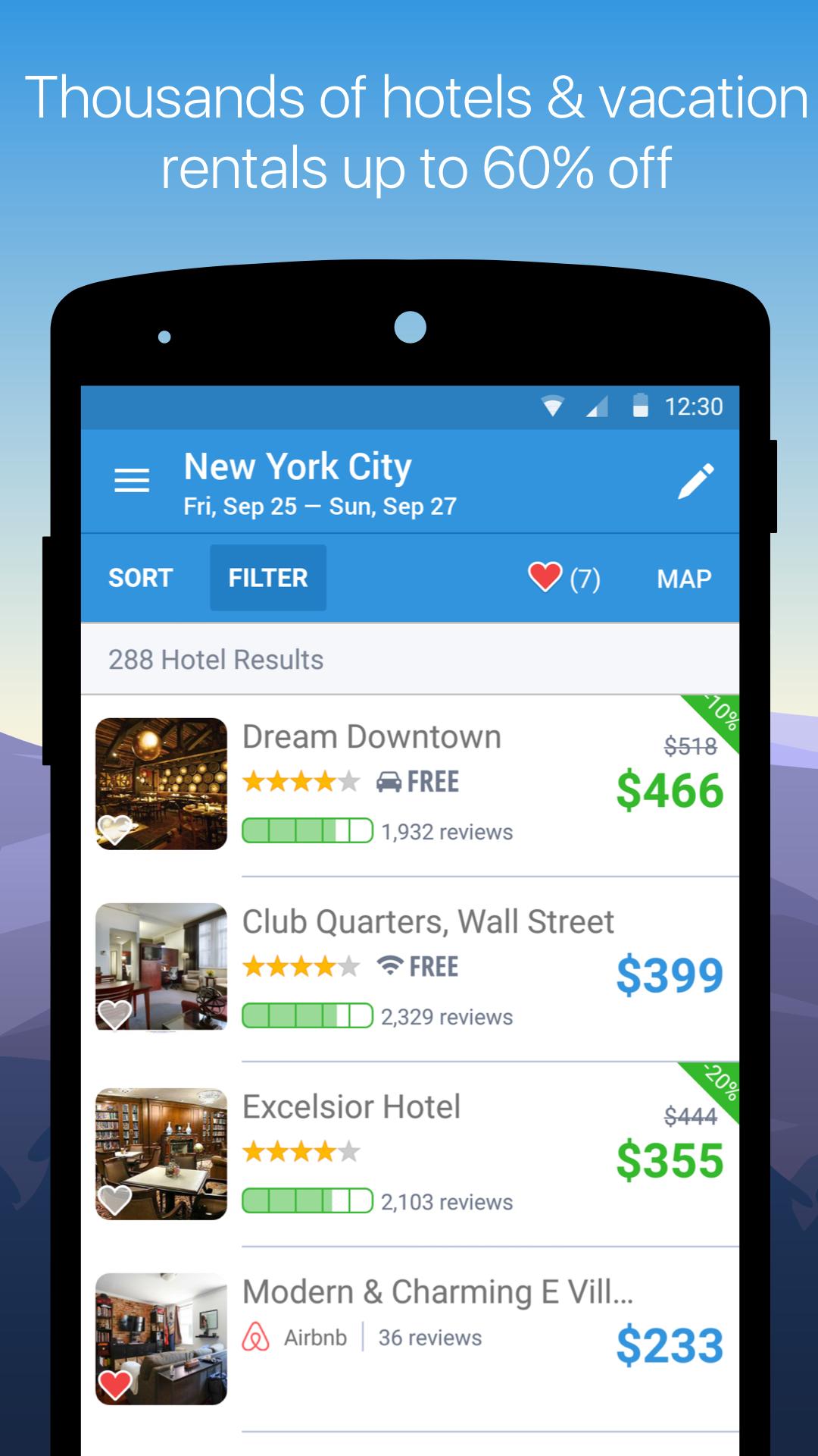 Hipmunk Hotels & Flights screenshot #5
