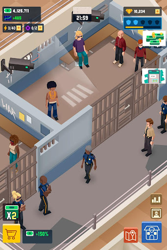 Idle Police Tycoon - Cops Game filehippodl screenshot 6