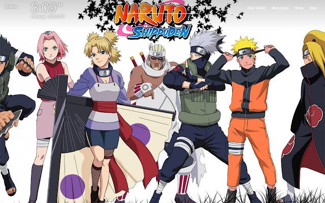 Naruto Characters Wallpapers FullHD New Tab