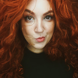 Brave by Slay Thecurves - People Portraits of Women ( cosplay, makeup, red hair, merida, brave )