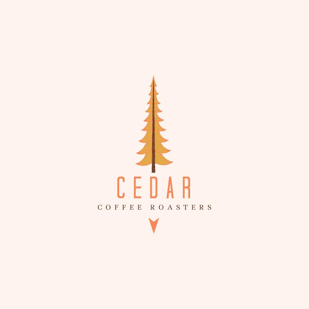 Cedar Coffee Roasters - Logo Template