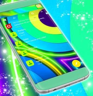 SMS Témata Neon Barva zdarma - náhled