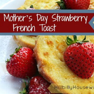 Easy Strawberry French Toast