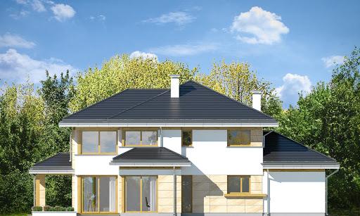 Dom z widokiem 5 - Elewacja tylna