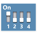 Expander Dip Switch Settings icon