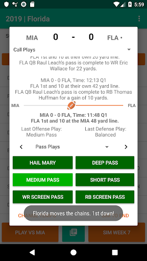 Football Coach 2 1.1 screenshots 2