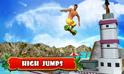 Hoverboard Stunts 2016 screenshot