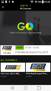StarHub Go- screenshot thumbnail