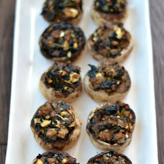 Healthy Stuffed Mushrooms.