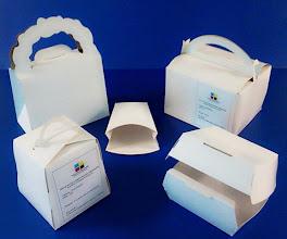 Photo: Enorme variedade de protótipos de caixas e luvas para alimentos Fast Food.