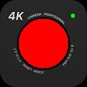 4K Camera - Filmmaker Pro Camera Movie Recorder icon
