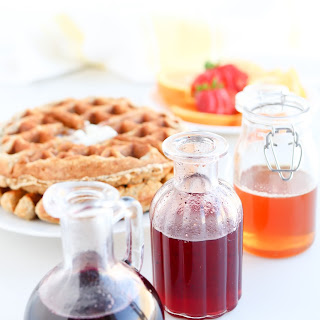 Pressure Cooker Infused Honey Syrup.