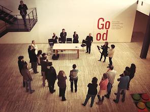 Photo: Momento da inauguração