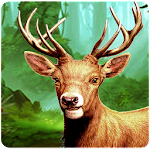 Hunter kills the deer Icon